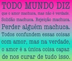O amor é a cura!