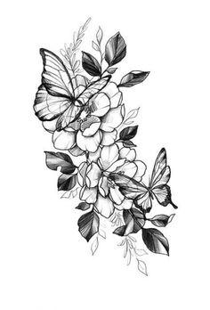 Flowers Tattoo Leg Floral 20 Ideas - Emily Way Tattoo Girls, Girl Tattoos, Tatoos, Brother Tattoos, Piercing Tattoo, Piercings, Body Art Tattoos, Small Tattoos, Buddha Tattoos