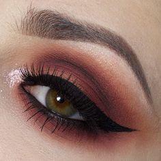 @meltcosmetics dark matter, blurr, unseen, amilie, and lovesick lashes by @powderandpandemonium  @anastasiabeverlyhills #dipbrow in dark brown