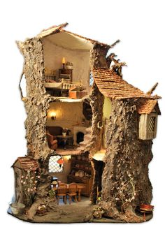 The oak tree mouse house