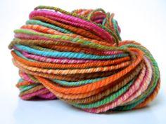 Cate Handspun Yarn 3 Ply Polwarth Wool