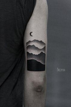 Surreal Black Ink Tattoos By Ilya Brezinski MustetatuointiMusta - Surreal black ink tattoos by ilya brezinski