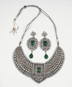 Luxemi... emerald green jewellery