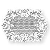 Cottage Rose Round Table Topper | Heritage Lace