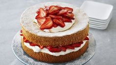 You'll find the ultimate Anna Olson Strawberries and Cream Sponge Cake recipe and even more incredible feasts waiting to be devoured right here on Food Network UK.