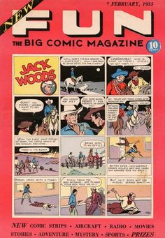 New fun. Original comic book