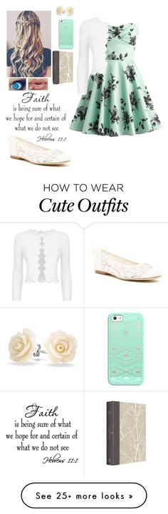 """Church Outfit"" by lillyd26 on Polyvore featuring Soludos, Maje, Bling Jewelry and Casetify"