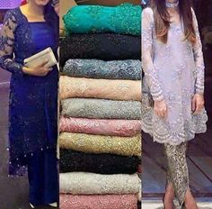 Sanjana V Singh Pakistani Wedding Outfits, Pakistani Dresses, Indian Dresses, Indian Outfits, High Fashion Dresses, Fashion Wear, Indian Designer Outfits, Designer Dresses, Simple Dresses