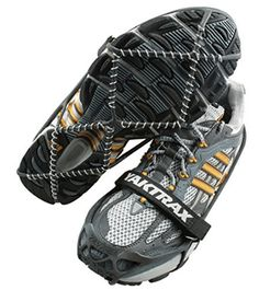 Yaktrax Pro Traction Cleats for Walking Jogging or Hiking on Snow and Ice Small Mountain Equipment, Winter Running, Gadgets, Best Stocking Stuffers, Walk On, Courses, Black Media, Eddie Bauer, Your Shoes