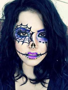 maquillage femme pour Halloween Plus