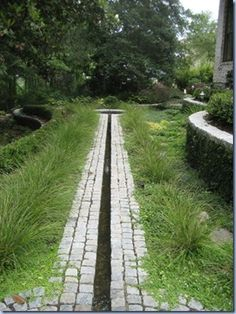 Simple rill and could be in keeping with grass/prairie plantings.