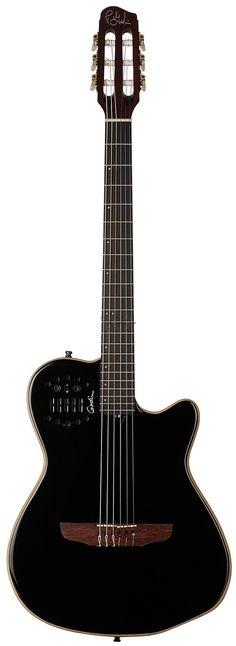 Electric Versus Acoustic Guitar - Play Guitar Tips Acoustic Guitar Pictures, Guitar Photos, Rare Guitars, Fender Guitars, Acoustic Guitars, Jazz Guitar, Cool Guitar, Godin Guitars, Steel Guitar