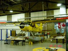 "Beaver by DeHavilland, in Toronto, Ontario.    This one of the famed ""Yellowbirds"" of Ontario, now retired at the Canadian Bush Plane Museum in Sault  Ste. Marie, Ontario."