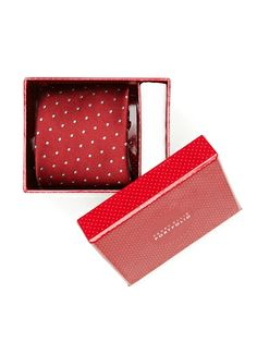 Sonoran Dot Tie and Pocket Square Set from Perry Ellis on Catalog Spree, my personal digital mall.