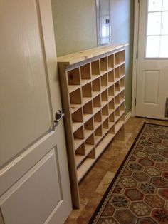 How To Build A Vintage Style Mail Sorter Organize Shoes Remodelaholic