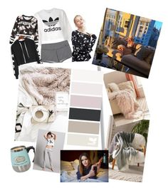 """""""All mom's need a lazy day."""" by maryann-bunt-deile on Polyvore featuring Pusheen, adidas Originals, NIKE, ASOS and Urban Outfitters"""