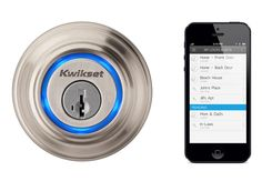 Kevo Lock iPhone Controlled Door Lock Now Available To Pre-Order - The Kevo Lock is compatible with Apple iPhone 4s and 5 devices only and enables you to simply touch the lock of your house for access and has been created by Kwikset.   Geeky Gadgets
