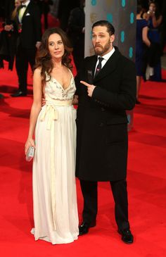 Tom Hardy | 15 Beautiful Men Who Graced The 2014 BAFTAs Red Carpet