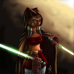Asoka Tano Star Wars- Clone Wars