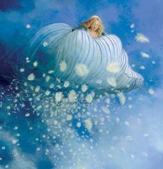 A Polar Bear's Tale: Mother Hulda - Frau Holle  by Charlotte Dematons