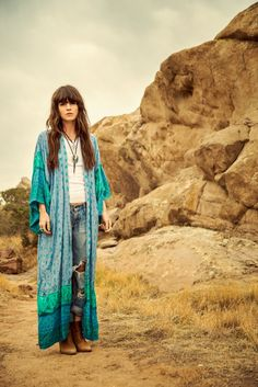 Cute boho outfit from Spell  the Gypsy Collective's mid-season lookbook, 'Midsummer Storm'.