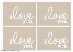 Landee See, Landee Do: Valentines Day Printable