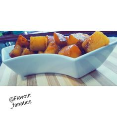 Caramelized Butternut recipe by Aqueelah Hadia