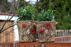 Garden Pots, Planter Pots, Lavender, Pottery, Ceramica, Garden Planters, Pottery Marks, Ceramic Pottery, Pots