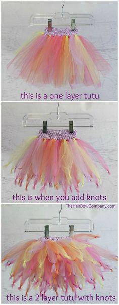 Fluffy tutu DIY tutorial!