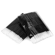 JEYL חמה 100 יחידות חד פעמית מברשת שפתיים ליפסטיק גלוס שרביטים מוליך כלי איפור קוסמטיקה יופי