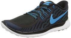 promo code e03be 8fd7a Nike Free 5.0 Lightweight Running Size 12.5 (Black Electric Blue)