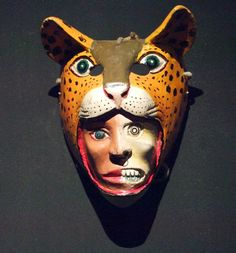 Jaguar mask / National Museum of Anthropology, Mexico City