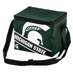 Forever Collectibles Michigan State Spartans Lunch Bag Insulated Cooler, Multicolor