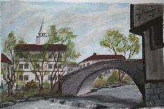 Bulgarian footbridge