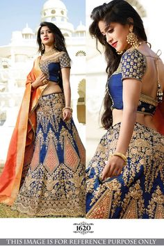 Here is a graceful collection bollywood lehenga choli of contemporary style heavy traditional bollywood lehenga choli for all you ladies who love to royal elite attires. The color combinations and patterns are also equally delightful. (Slight variation in Blue Lehenga, Lehenga Gown, Bridal Lehenga Choli, Saree Dress, Heavy Lehenga, Set Saree, Sari, Saree Blouse, Lehenga Choli Designs