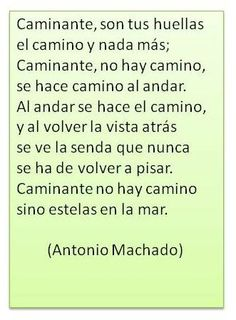 Antonio Machado Text Quotes, Words Quotes, Sayings, Word Of Advice, Frosting Recipes, Meaningful Quotes, Writer, Wisdom, Thoughts