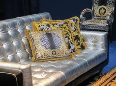 Milan Furniture Fair: Versace Home Collection