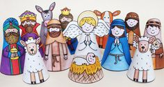 My Nativity printables by Kate Hadfield