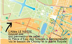 Itinéraire Yvelines - Parc de Versailles / Allée Le Nôtre - 12 km http://www.marche-nordique-marly.blogspot.fr/2013/11/15112013-parc-de-versaillesallee-le.html