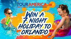 Win a 7 night holiday for 2 to Orlando!