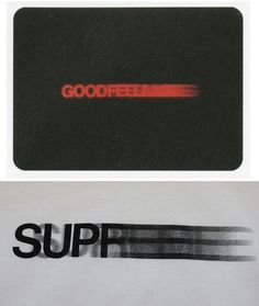 The Supreme motion logo is inspired by the title sequence of 1990's Goodfellas, designed by Saul Bass. - 50 Things You Didn't Know About Supreme | Complex UK