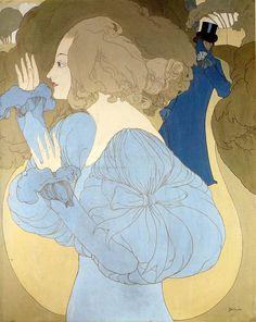Изысканные женские образы на полотнах Georges de Feure - Ярмарка Мастеров - ручная работа, handmade