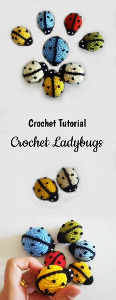 It's time for another cute creation by our lovely craft crochet. Ladybugs are one of the most beautiful and iconic creature in nature. It's impossible of course and not good to make out interior more beautiful with these little bugs.