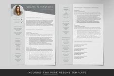 Ad: Resume Template / CV by TheResumeCoach on In need of a great professional resume design but lack the skills to design one or simply don't have access to expensive design software? Student Resume Template, Best Resume Template, Cv Template, Resume Design, Resume Cv, Teaching Resume, Microsoft Word 2007, References Page, Cover Letter Template