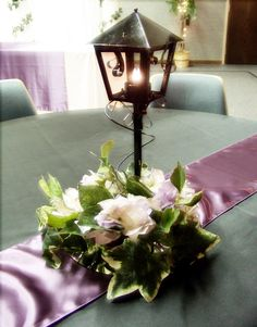 Black Lanterns For Wedding Centerpieces | lighted black lantern centerpiece eiffel tower centerpiece with calla ...