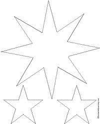 Google-kuvahaun tulos kohteessa http://www.enchantedlearning.com/tracing/stars2/stars.GIF