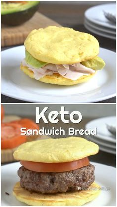 This keto sandwich bread is super easy to make and only takes 10 minutes!  #keto #lowcarb #paleo #dairyfree #healthyeating #cleaneating #healthybread #ketobread