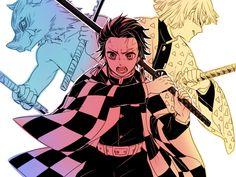 Kimetsu no Yaiba (Demon Slayer) Wallpaper - Zerochan Anime Image Board Manga Anime, Anime Art, Demon Slayer, Slayer Anime, Natsume Yuujinchou, Samurai Art, Demon Hunter, Angels And Demons, Boku No Hero Academia