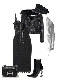 """Без названия #5"" by m-linev on Polyvore featuring мода, Dolce&Gabbana, Balenciaga, Yves Saint Laurent, Prada и Lola"