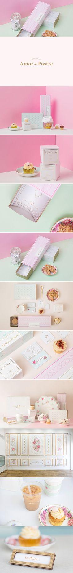 Amor al Postre — The Dieline | Packaging & Branding Design & Innovation News